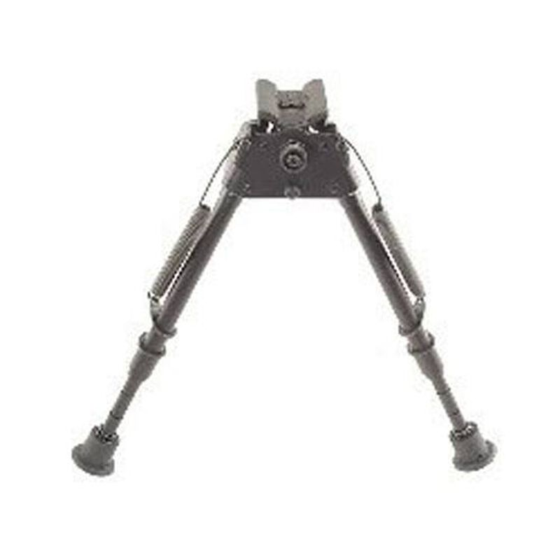 "Harris Ultra-light Bipod Swivel Notched Legs Sling Swivel Stud Mount 9"" to 13"" Telescoping/Folding Legs Aluminum Matte Black S-LM"