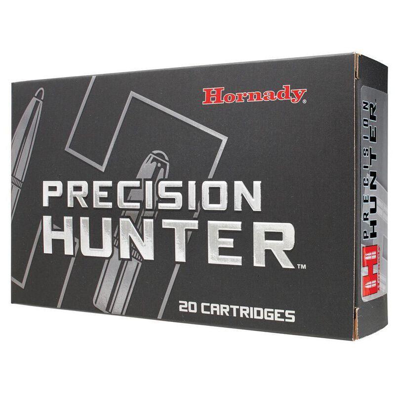 Hornady Precision Hunter .280 Ackley Ammunition 20 Rounds 162 Grain ELD-X Polymer Tip Bullet 2850fps