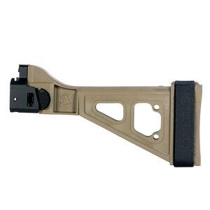 SB Tactical SBTEVO CZ Scorpion EVO Pistol Stabilizing Brace Polymer Flat Dark Earth