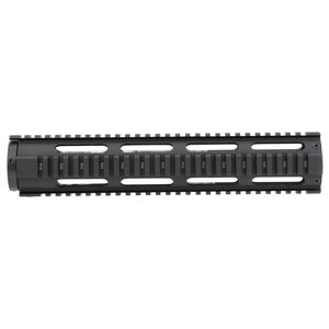 "Aim Sports AR-15 12.5"" Free Float Quad Rail Handguard Aluminum Anodized Black"