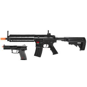 Umarex HK 416 Combat Kit AEG Airsoft 6mm BBs Electric Power Black Finish