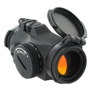 Aimpoint Micro T-2 Red Dot Sight 2 MOA Dot with No Mount CR2032 Battery Aluminum Housing Matt Black Finish
