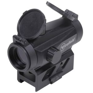 Firefield Impulse 1x22 Compact Red Dot Sight Circle Dot Reticle Unlimited Eye Relief CR2032 Battery Integral Weaver-Style Mount Matte Black Finish