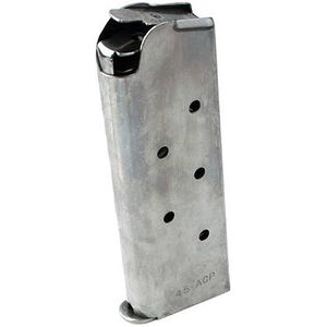 SIG Sauer 1911 Compact .45 ACP Magazine 7 Rounds Stainless Steel MAG-1911-45-7