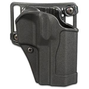 BLACKHAWK! Sportster CQC Belt/Paddle Holster For GLOCK 19/23/32 Right Hand Polymer Black 415602BK-R