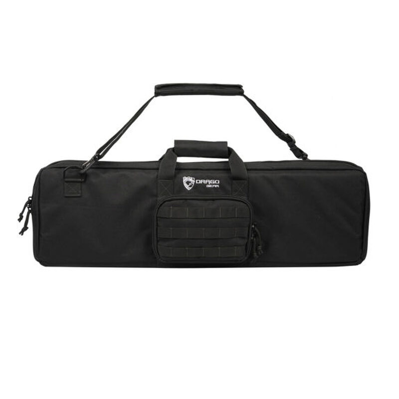 "Drago Gear Tac-S Compact Pistol Grip Shotgun Case 29"" Durable Tactical Nylon Black"