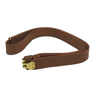 "Hunter Military Sling for 1.25"" Swivels Leather Brown 200-125"