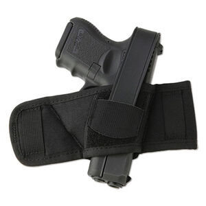 Ambidextrous Side Bet Belt Slide Holster Autos & Revolvers Nylon Black
