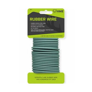 HME Products Rubber Coated Steel Wire 25' Green