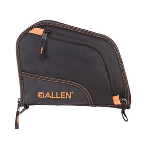 "Allen Auto-Fit Handgun Case 9"" Black/Orange"