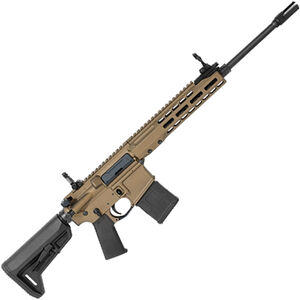 "Barrett REC7 Flyweight AR-15 Semi Auto Rifle 5.56 NATO 16"" Barrel 20 Round Magazine Gas Piston System Enhanced M-LOK Hand Guard 6-Position Stock Cerakote Burnt Bronze Finish"