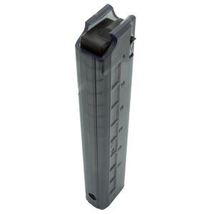 Brugger & Thomet TP9/MP9/P26/KH9 Full Size 30 Round Magazine 9mm Luger Polymer Translucent Gray/Clear Finish