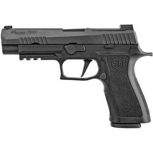 "SIG Sauer P320 X FULL 9mm Semi Auto Pistol 4.7"" Barrel Full Size 17 Rounds Tritium Night Sights Optics Ready Polymer Frame Black"
