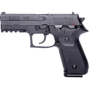 """FIME Group Rex Zero 1S 10S 9mm Luger Semi Auto Pistol 4.3"""" Barrel 10 Rounds Metal Frame Black"""