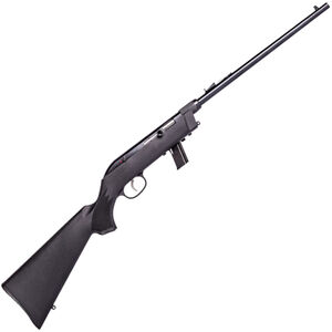 "Savage Model 64 F Takedown .22 LR Semi Auto Rimfire Rifle 16.5"" Barrel 10 Rounds with Uncle Mikes Bug-Out Bag Black Synthetic Stock Blued Finish"