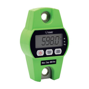 Hunting Made Easy Digital Hanging Scale 880 lb max 2AA Batteries Green