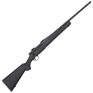 "Mossberg Patriot Bolt Action Rifle .22-250 Remington 22"" Barrel 5 Rounds Synthetic Stock Matte Blue Finish 27843"