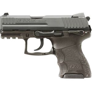 "H&K P30SK V3 Semi Auto Handgun .9mm Luger 3.27"" Barrel 10 Rounds Ambidextrous Safety Polymer Frame Blued Finish 730903KS-A5"