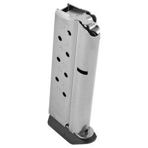 Chip McCormick Officer/Defender Magazine 9mm Luger 8 Rounds Polymer Base Plate Steel Natural Finish