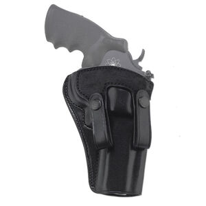 "Galco Summer Comfort Colt King Cobra 4""/Ruger GP100 4"" and Similar Inside Waistband Holster Right Hand Leather Black"