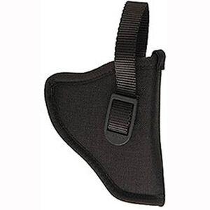 Uncle Mike's Sidekick Left-Handed Belt Holster for GLOCK 26, 27 & 33, Nylon, Black