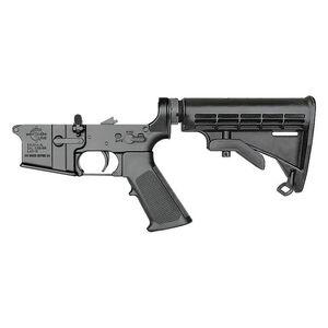 Rock River Arms LAR-15 Complete Lower Half Standard Trigger 6-Position Tactical Carbine Stock Black AR0901C