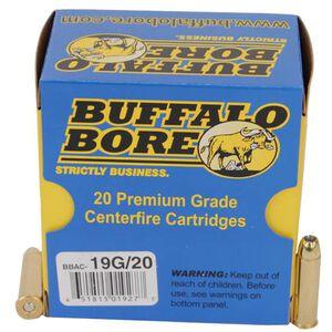 Buffalo Bore .357 Magnum Ammunition 20 Rounds JHP 125 Grains 19G/20