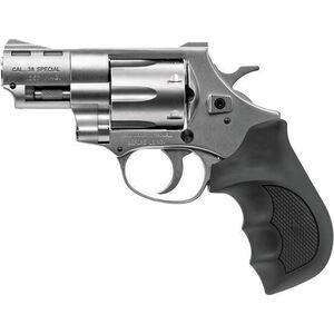 "EAA Windicator Revolver .357 Magnum 2"" Barrel 6 Rounds Rubber Grips Steel Frame Nickel Finish 770127"