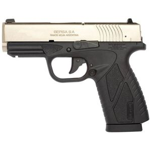 "Bersa BP Concealed Carry Semi Auto Pistol .380 ACP 3.3"" Barrel 8 Rounds Black Polymer Frame Stainless Steel BP380DTCC"