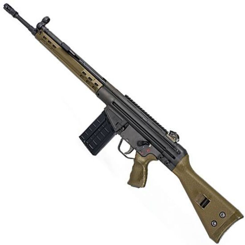 "PTR 91 GI R Semi Auto Rifle .308 Win 18"" Barrel 20 Rounds OD Green"