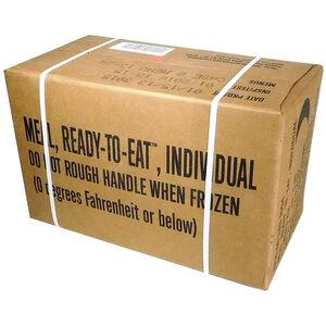 "U.S. Original Case Menu ""B"" MRE's 2018 Production Date, 2021 Inspection Date Menus 13-24,  NSN 8970-00-149-1094"