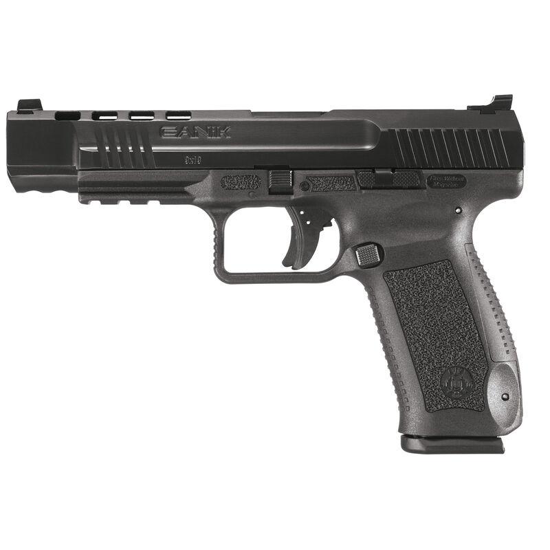 """Canik TP9SFL 9mm Luger 5.2"""" Barrel Long Slide 18 Rounds Polymer Frame Black"""