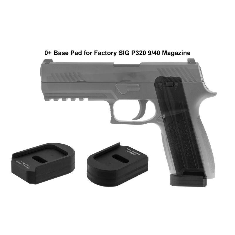 UTG PRO +0 Base Pad, SIG P320 9/40, Matte Black Aluminum