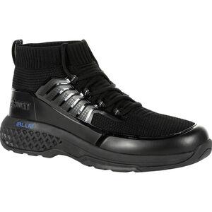 "Rocky International Women's Code Blue 8"" Knit Public Service Boot Size 6.5 Black"