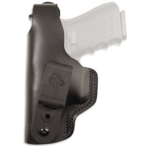 DeSantis Gunhide Dual Carry II Fits SIG Sauer P365 IWB/OWB Holster Left Hand Leather Black
