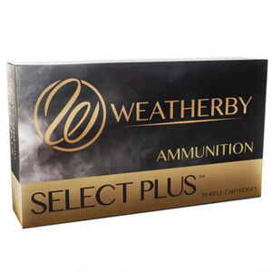 Weatherby Select Plus .30-378 Weatherby Magnum Ammunition 20 Rounds 180 Grain Barnes TTSX Lead Free 3360 fps