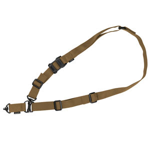 "Magpul MS4 QDM One/Two Point Sling Proprietary Weave 1-1/4"" Wide Nylon Webbing/Anti Chafing Comfort NIR Treatment Coyote Brown"