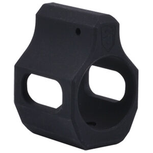 Phase 5 Weapons Systems AR-15 Steel Low Profile 0.750 Diameter Set Screw Gas Block Magnesium Oxide Finish