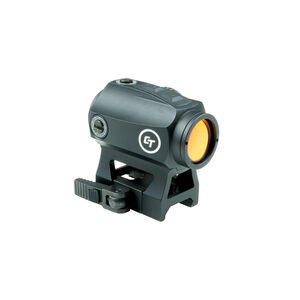 Crimson Trace Compact Red Dot Sight 1x 2 MOA Dot with Quick Detach Picatinny Mount CTS-1000