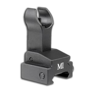 Midwest Industries AR-15 BUIS Flip Up Front Sight Gas Block Mount Picatinny Black MCTAR-FFG-BLK