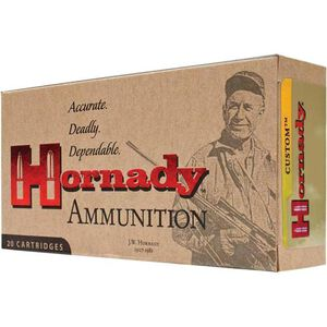 Hornady Custom .30-40 Krag Ammunition 20 Rounds 180 Grain SP Bullet