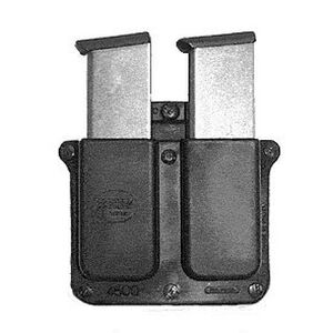 Fobus Belt Pouch Black Double Mag Pouch Fits 1911 - Single Stack .45 Magazines 4500BH
