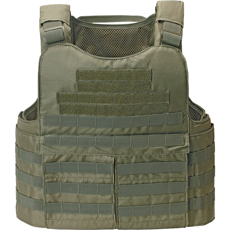 Voodoo Tactical 20-9031 I.C.E High Mobility Plate Carrier Vest OD Green Molle