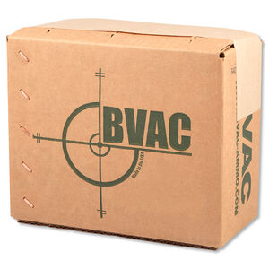 BVAC .40 S&W Ammunition 50 Rounds in a Poly Bag Loaded in Reloaded Brass FMJ 180 Grains R40180
