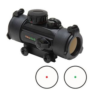 TRUGLO Dual Color 30mm Red Dot Scope 5 MOA Dot Black TG8030DB