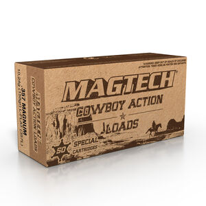 Magtech .357 Magnum Ammunition 50 Rounds LFN 158 Grains 357L