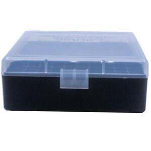 Berry's Ammo Box .38 Spl/.357 Mag 100 Round Polymer Clear/Black