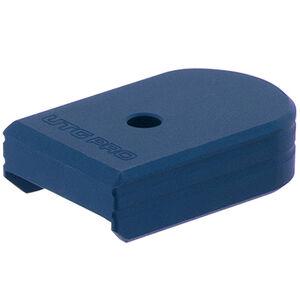 UTG PRO +0 Base Pad, CZ P07/P10C, Matte Blue Aluminum