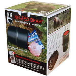 UDAP BRC No-Fed-Bear Bear Resistant Food Container