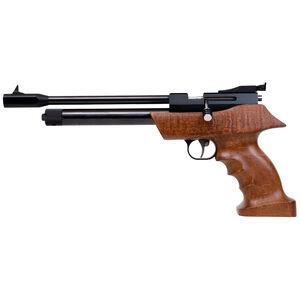 """Diana Airbug .22 Caliber CO2 Air Pistol 8.3"""" Barrel 460 fps 7 Pellets Adjustable Sights Wood Target Grip Blued Finish"""